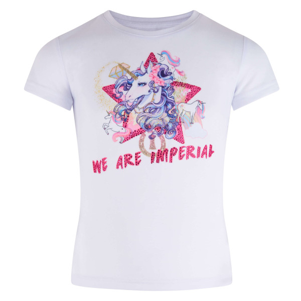 Imperial Riding KIDS Spaß-T-Shirt Happy Unicorn